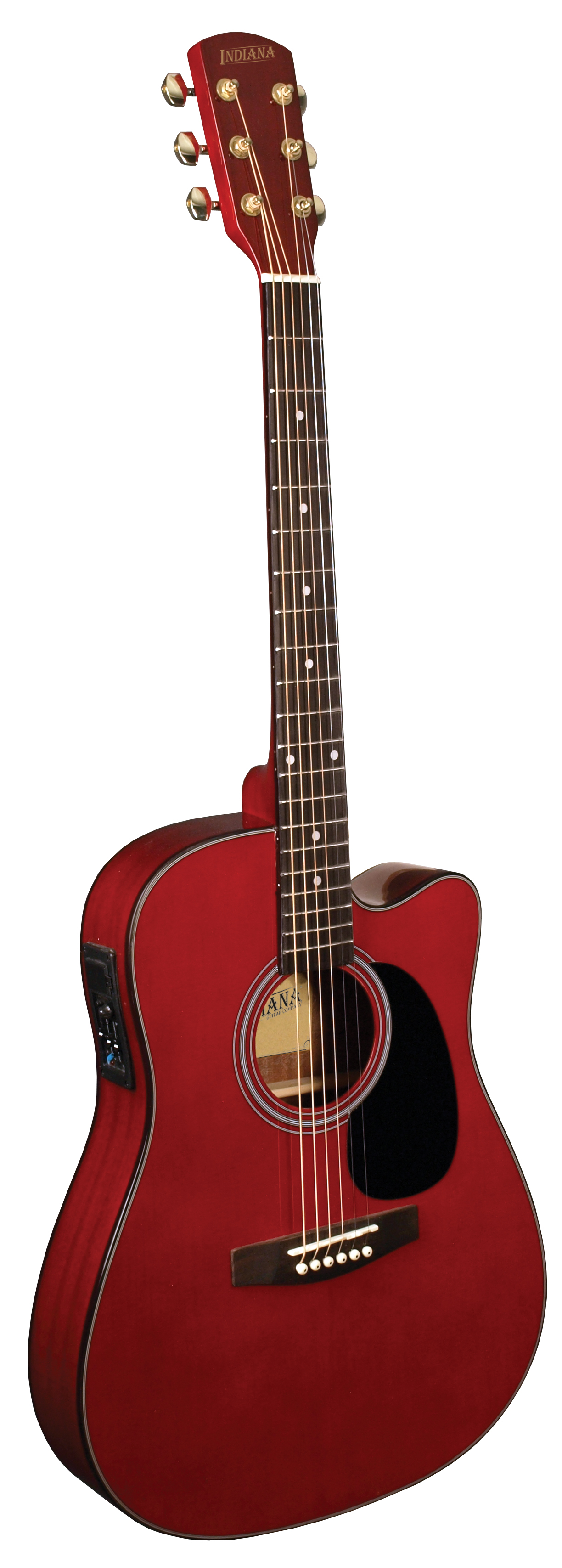 Indiana thin body acoustic electric classic red i tb2rd for Classic house bass